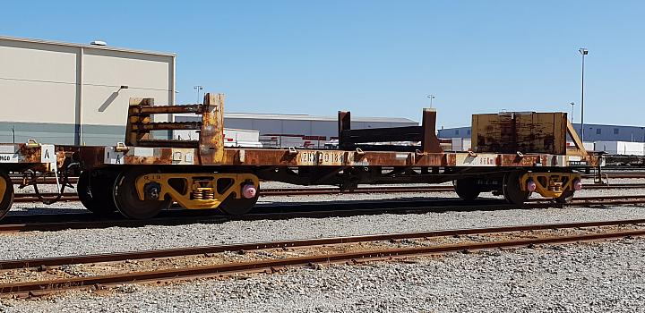 AZRX Rail type wagon (standard Gauge)