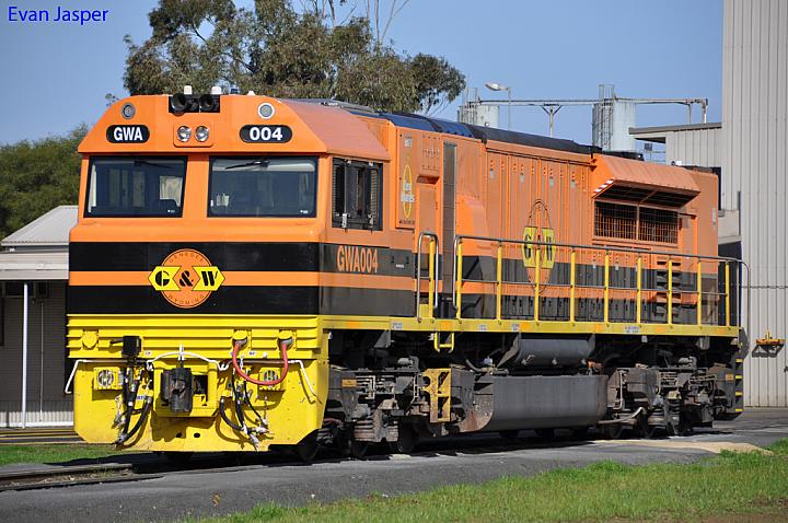 GWA004 sits at Dry Creek MPC on the 5th August 2012