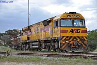 AC4305 on 3029 Sulphur train at Kwinana on the 27th September 2011