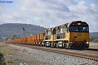 ACA6012 and ACA6005 on 2030 loaded iron ore train at Midland on the 30th April 2012
