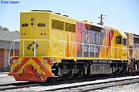 LZ3103 in the new QR National colours at Forrestfield Yard on the 29th January 2011