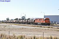 LZ3114 on 5SG4 Fuel shunt seen here departing Kewdale for Forrestfield on the 4th January 2018