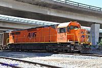 LZ3114 on 2460 Sulphur train seen here departing Forrestfield on the 8th March 2016