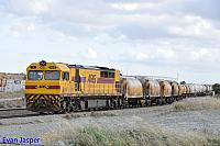Q4010 on 4197 Cement and Lime train seen here arriving into Forrestfield on the 22nd October 2014