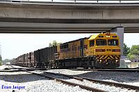 Q4012 on 2460 Sulphur train seen here heading departing Forrestfield on the 5th January 2016