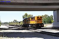 Q4018 on 5172 wagon transfer from Forrestfield Yard to Kwinana seen here departing Forrestfield South on the 21st December 2017