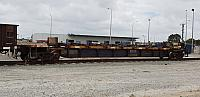 Pacific National's RKYY steel wagon, this carrys sheets of flat steel