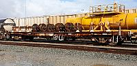 Aurizon's AZEY modified wheel and bogie wagon
