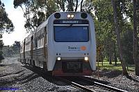 ADP101/ADQ121/ADP103 on 7209 Australind service at Roelands on the 20th July 2013