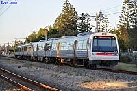 A sets 28 and 15 on a Fremantle bound train at Cottesloe on the 19th February 2012